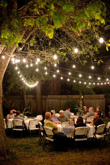 Backyard Birthday Party For The Guy In Your Life