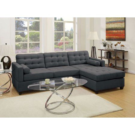 Simple Relax 1PerfectChoice 2 PCS Living Room Sectional Sofa Chaise