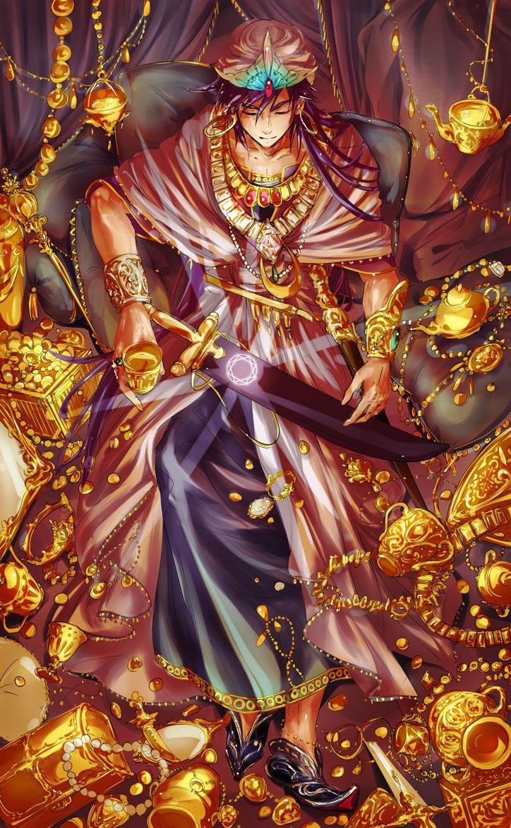 Sinbad Magi The Labyrinth Of Magic マギ 壁紙 マギ