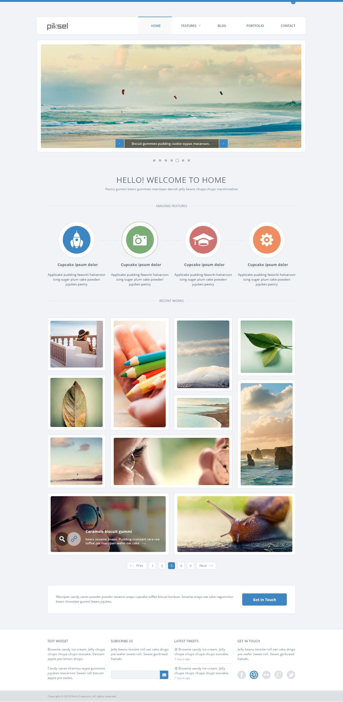 Clean Simple Web Design