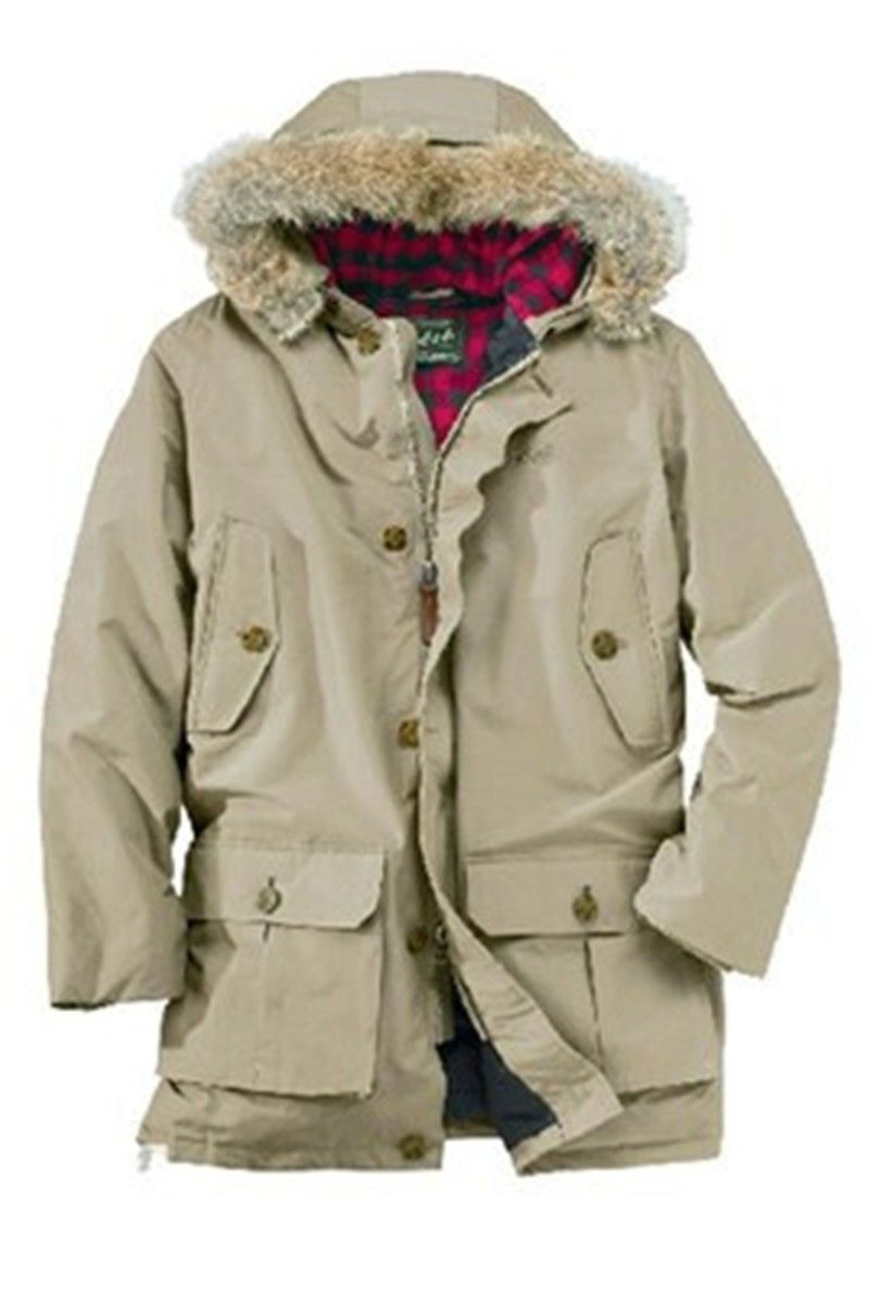 Woolrich Italy Woolrich Outlet Arctic Parka per Uomo Beige Online.