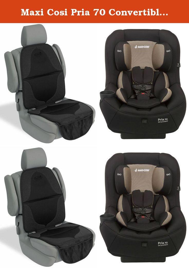 Maxi Cosi Pria 70 Convertible Car Seat With Elite Mat Black Toffee