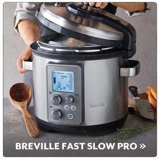 Sur La Table Breville Fast Slow Pro Fast And Slow Breville