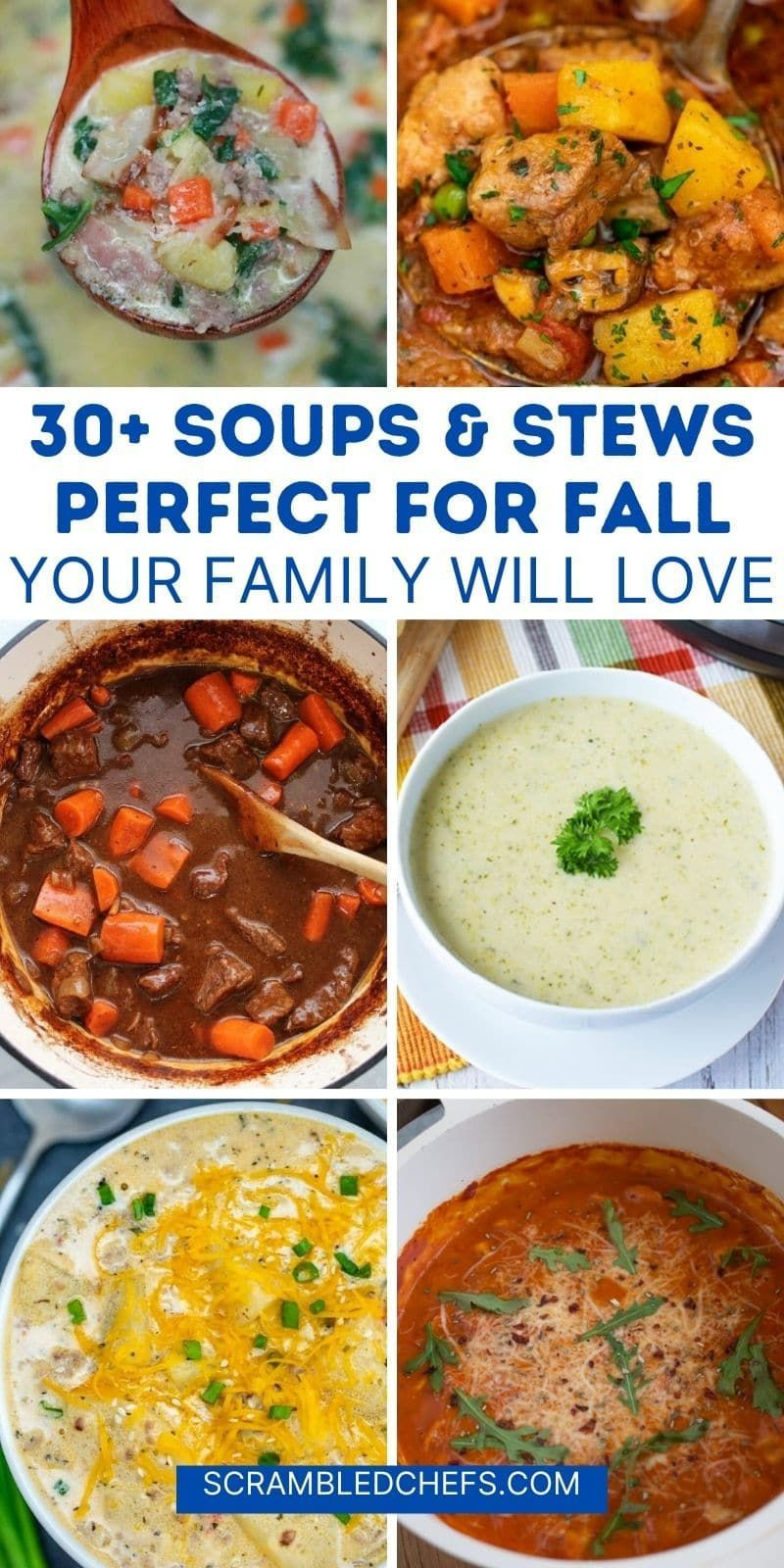 30 Delicious Soup Stew Recipes That Are Packed With Flavor Recipe In 2020 Classic Stew Recipe Stew Chicken Recipe Gnocchi Recipes Soup