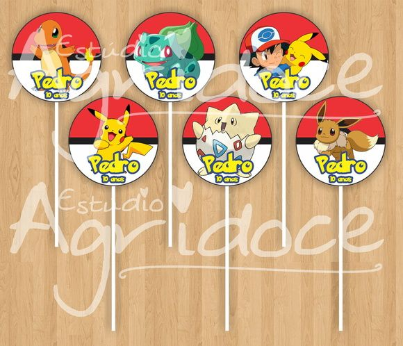 Toppers - Pokemon