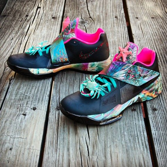nike zoom kd iv summer sunset customs 08 570x570 Nike Zoom KD IV Summer  Sunset Customs by Gourmet Kickz c55a22ab4