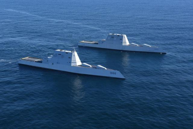 Battleships Of 2020 What Does A Crewless Warship Look Like In 2020 Us Navy Destroyers Uss Zumwalt Warship