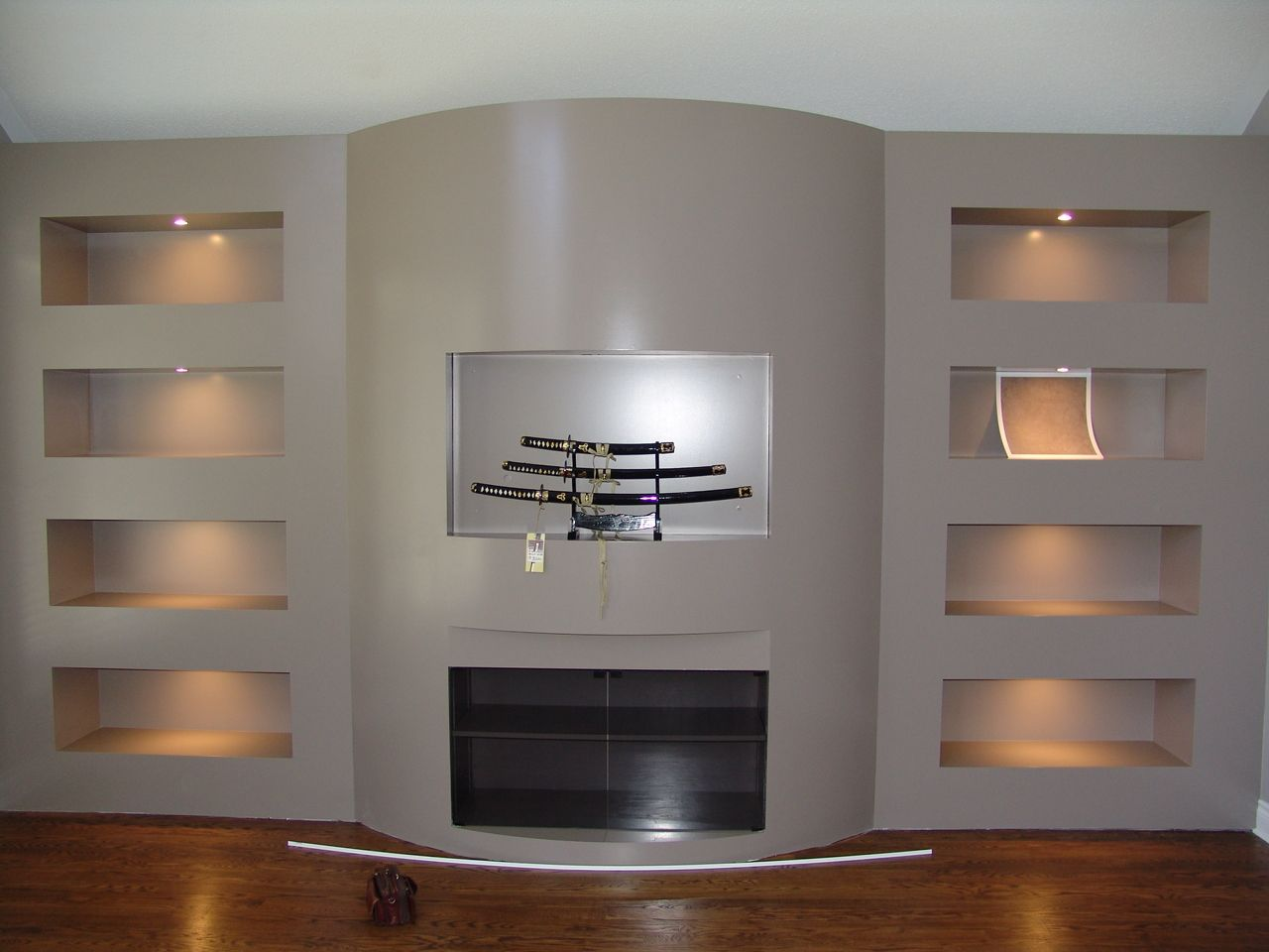 interesting built in tv wall unit plans pic ideas roy testa wall units with fireplace - Designer Wall Unit