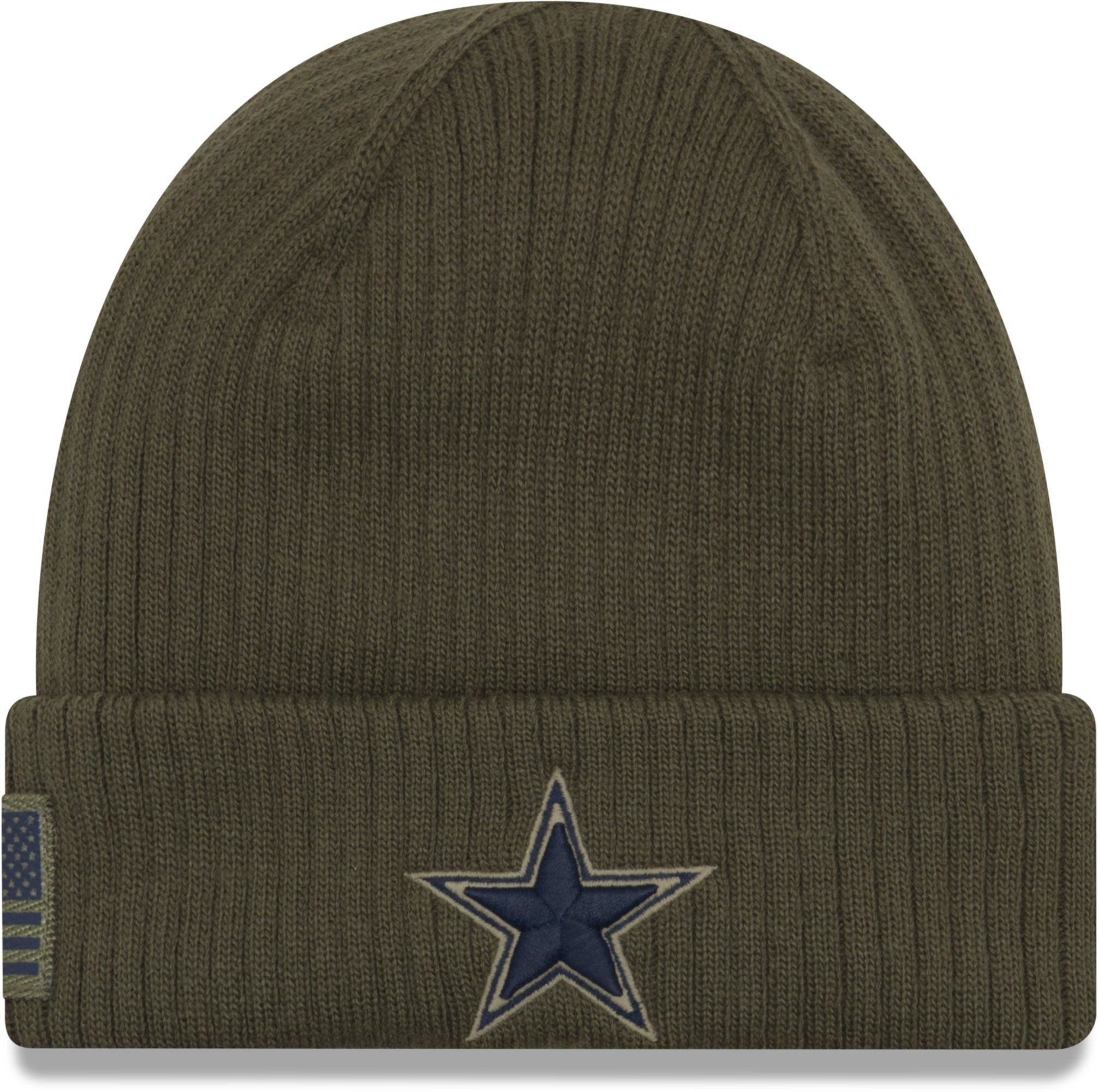 5e2ea281 Dallas Cowboys New Era Knit On Field 2018 STS Beanie – lovemycap ...