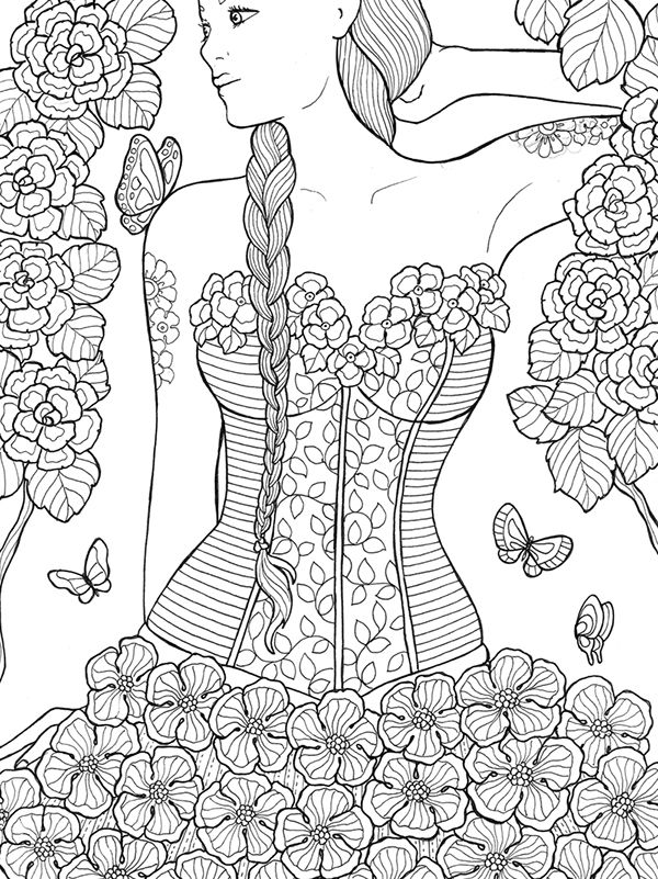 Nature Coloring Pages Pdf : Best image a colorier ideas on pinterest