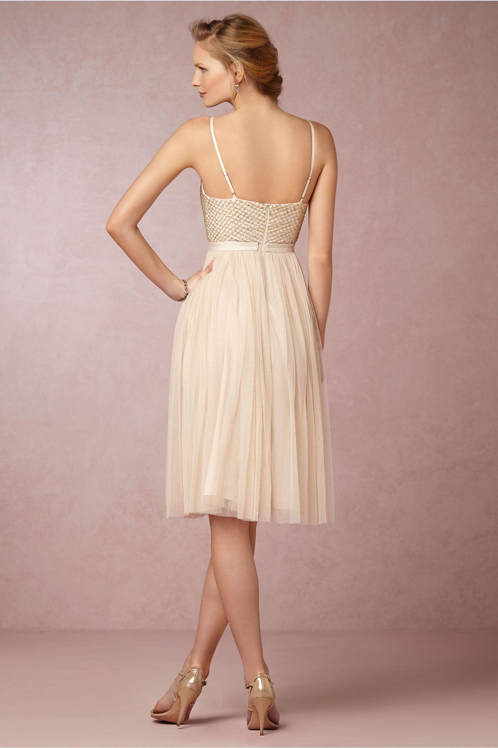 Coppelia Ballet Dress in Swept Away at BHLDN | Gold | Pinterest