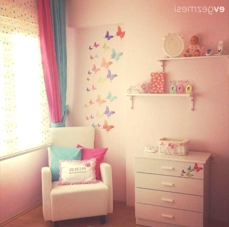 Kinderzimmer, Wanddekoration, Pink Zimmereinrichtung