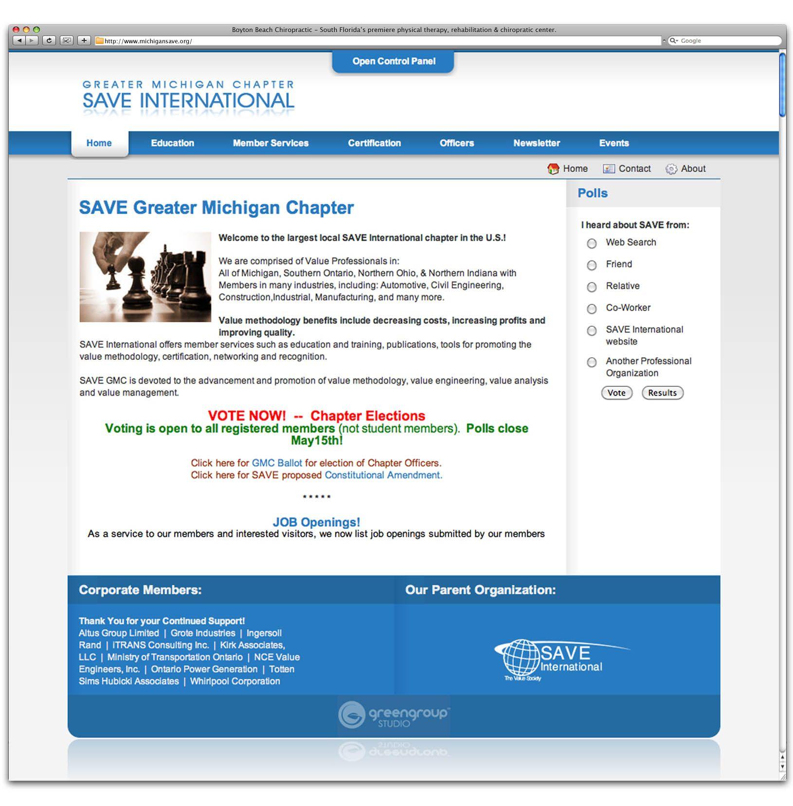 Website Design And Development For Client Save International