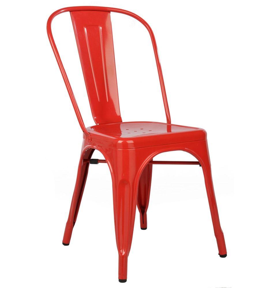 Replica Xavier Pauchard Tolix Chair Powder Coated Matt Blatt