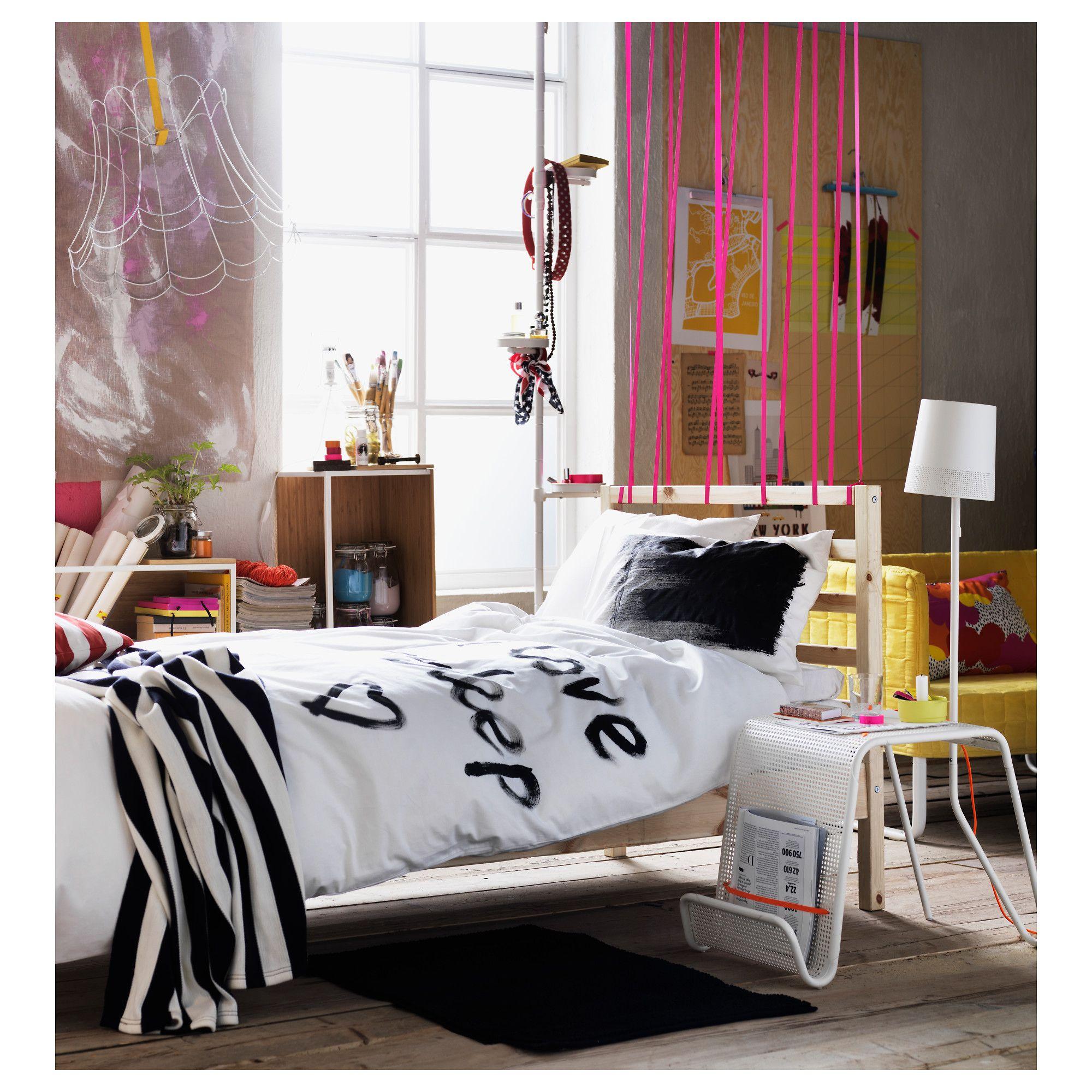 Ikea Design Bedroom Unique Tarva Rama Łóżka Sosna Leirsund Design Ideas