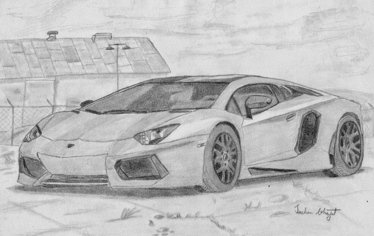 Lamborghini Sketch Car Drawings Lamborghini Super Cars