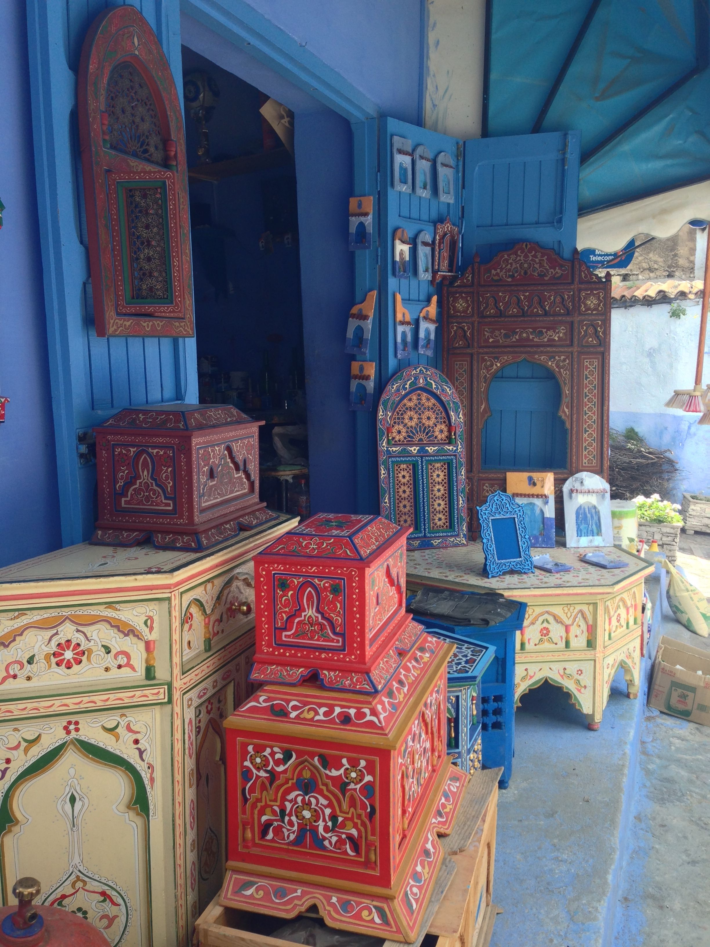 Chefchaouen, Chaouen, Blue City, Morocco, Africa (With