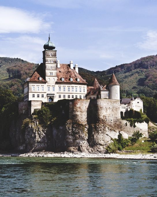 Schoenbuehel Castle in Wachau, Lower Austria