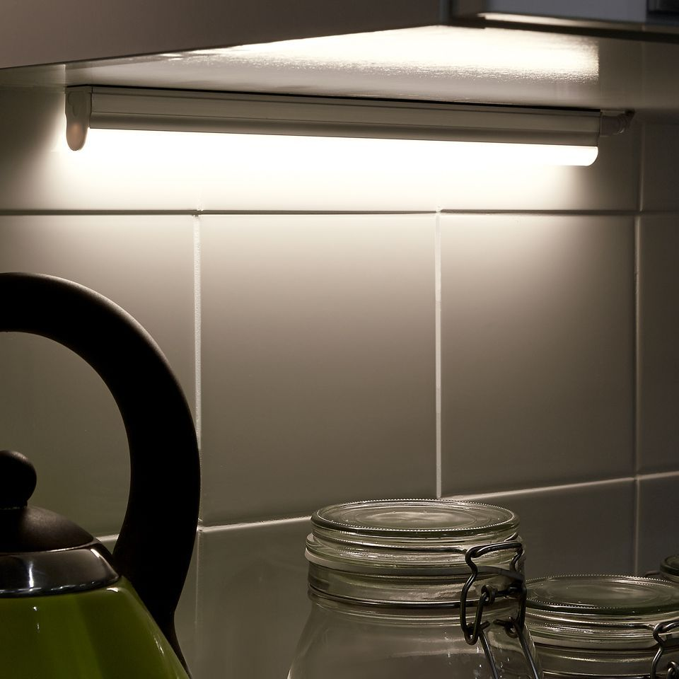 Connex mains led under cabinet strip light kitchen lighting connex mains led under cabinet strip light aloadofball Image collections