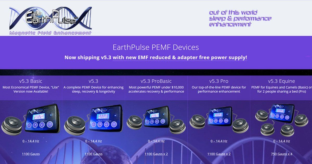 EarthPulse PEMF Devices in 2019 | PEMF Healing | Therapy