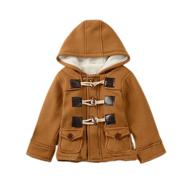 bed0fa40 GetUBacK Baby Boy's Hooded Fleece Coat Winter Outwear Top 10 Best Toddler  Boy Winter Coats #toddler #wintercoat #jacketforkids
