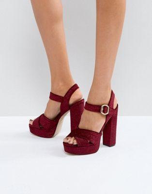 Zapatos negros de punta abierta formales Aldo para mujer 5UpF6