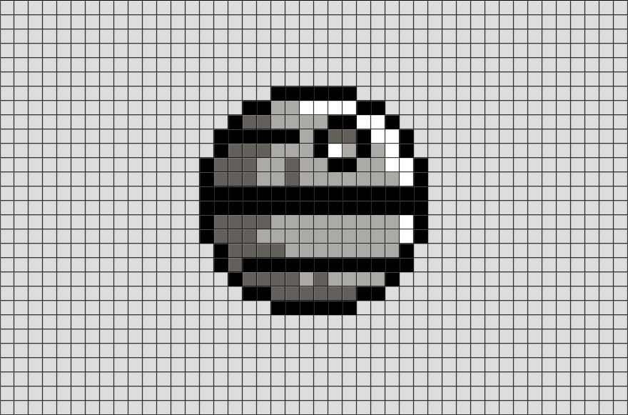 You Searched For Death Star Star Wars Gifts Pixel Art Grid Cross Stitch Bookmarks Pixel Art