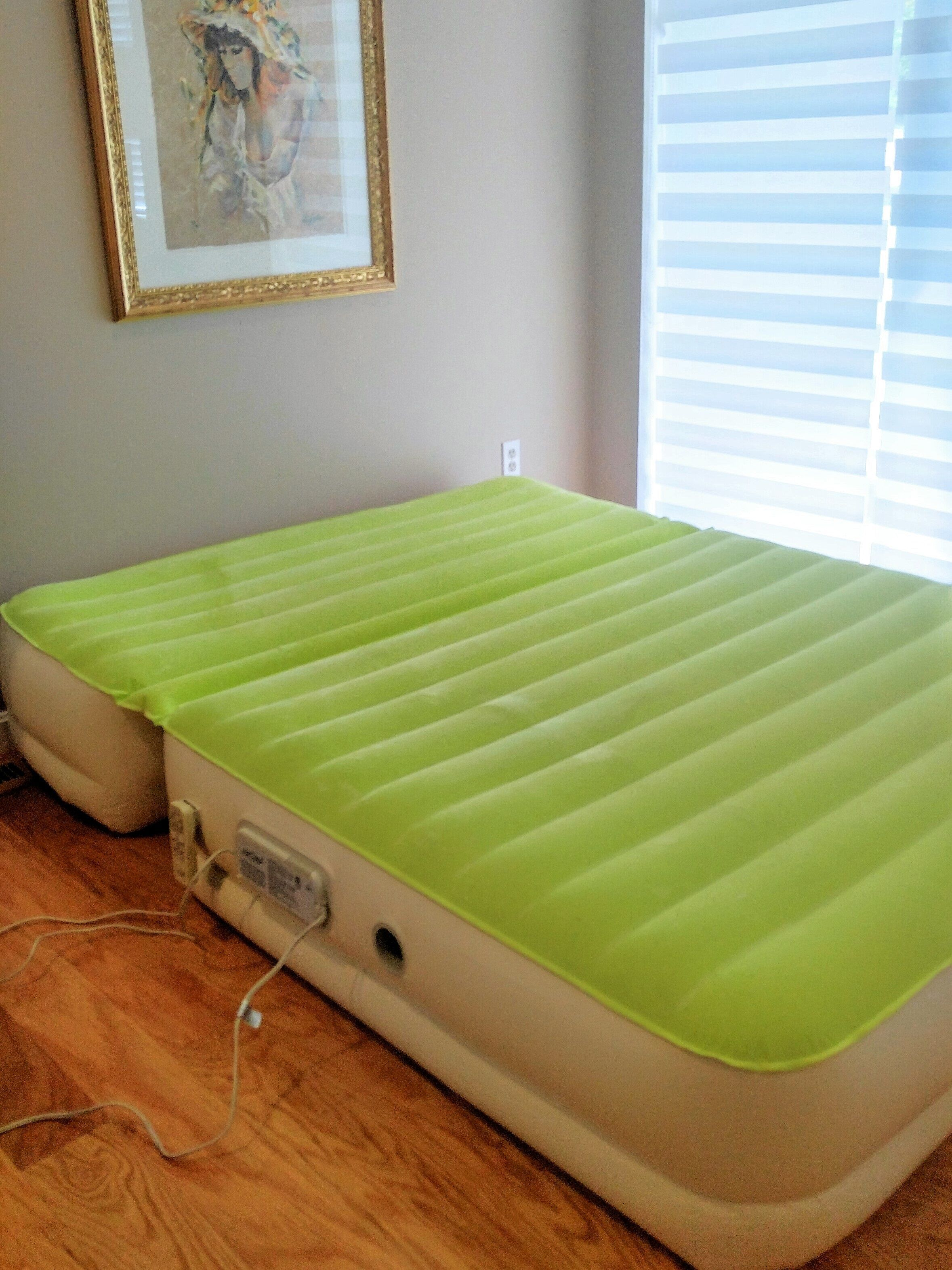Slumber Matic Queen Size Fully Adjustable Inflatable Air Bed Queen Size Slumber Air Bed Bed Queen Size