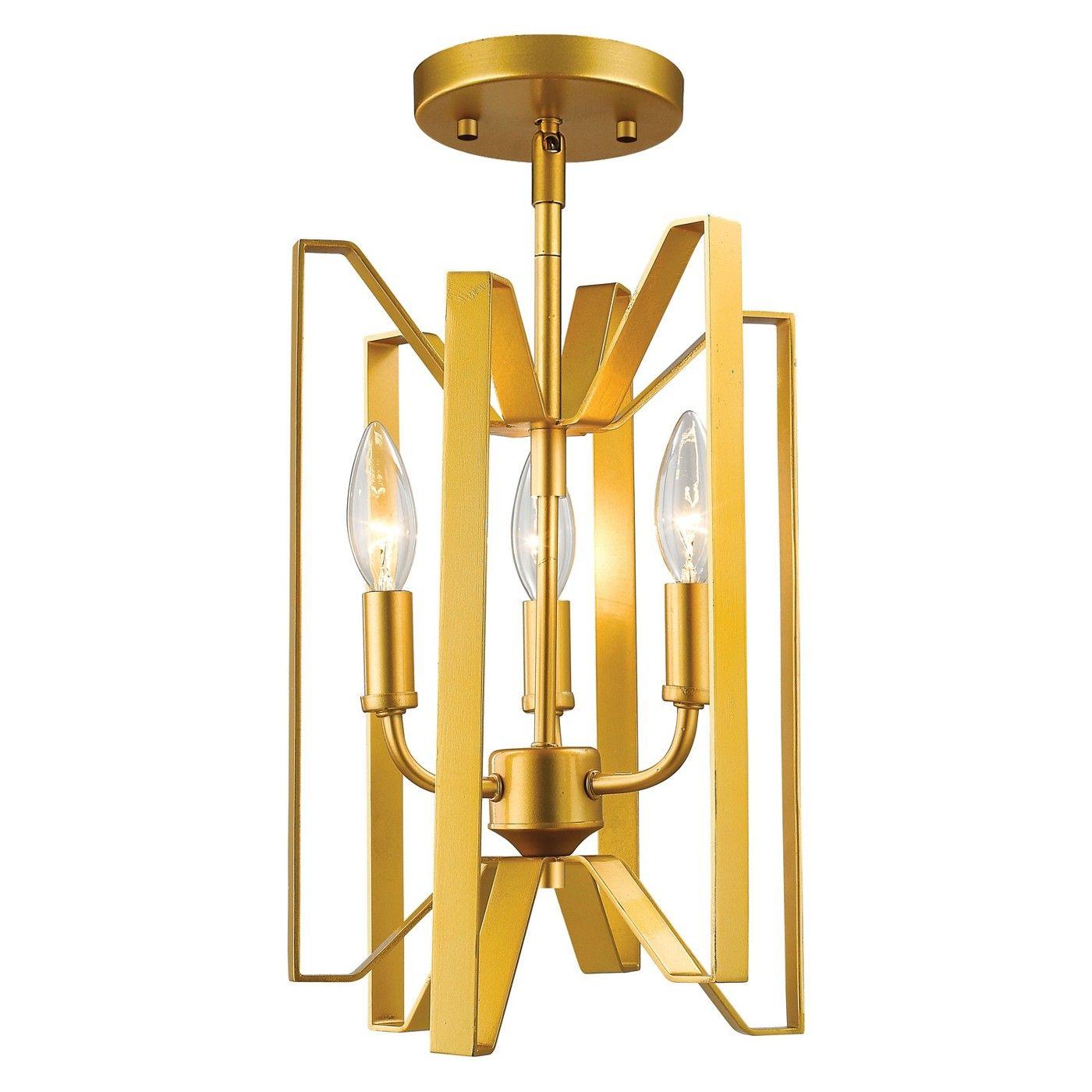 Semi flush mount ceiling lights set of zlite image of