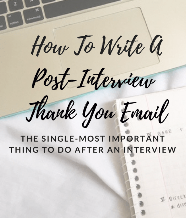 tips for writing a postinterview thank you email engineering college student resume examples format law students objective every profession