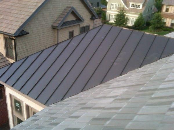 Best Dark Bronze Standing Seam Roof Panels Metal In 2019 400 x 300