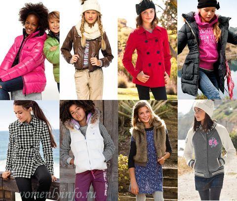 Модный сайт одежды для подростков