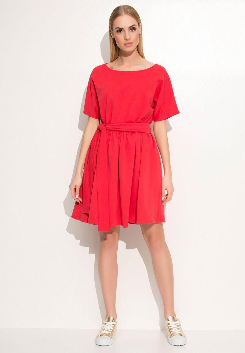 Kleid rot uboot