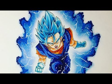 Cómo Dibujar A Vegetto Ssj Dios Ssj Blue Paso A Paso How To Draw Vegito Ssj Blue Youtube Visit Now For 3d Dragon Ball Drawings Ball Drawing Dragon Ball Z