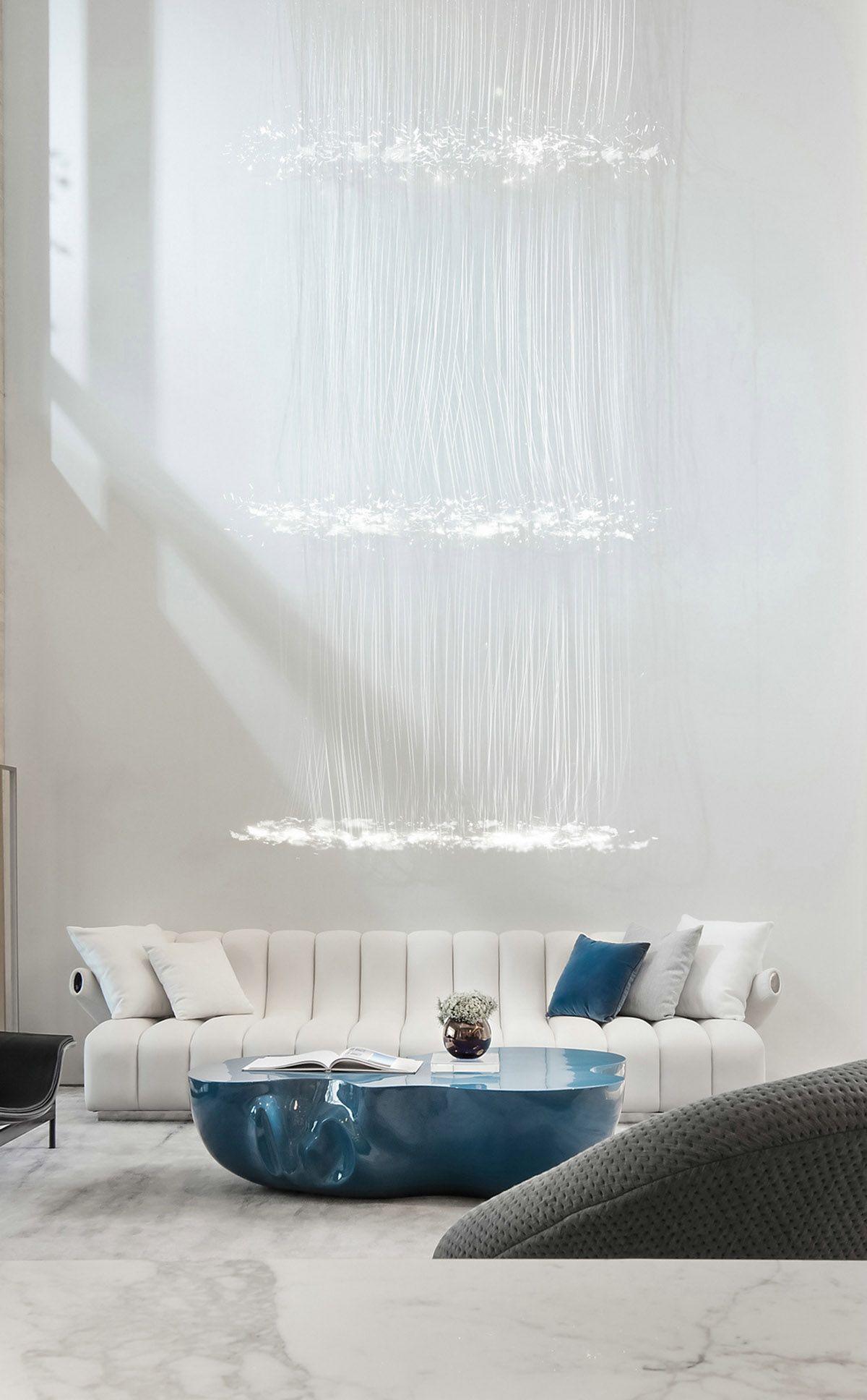 40+ Futuristic living room set trends