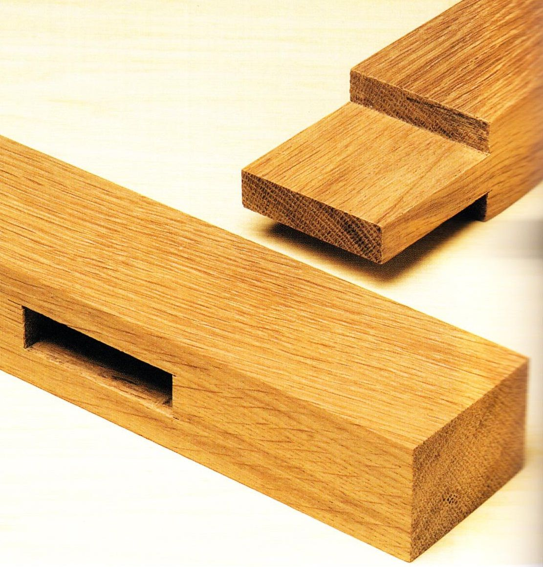 Mortise and tenon joints a strong way to build furniture joints usually ued to connect leg posts or the top slats on chair