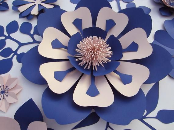 Large Paper Flowers Backdrop, Nursery Decor, Giant Paper Flower Wall #giantpaperflowers