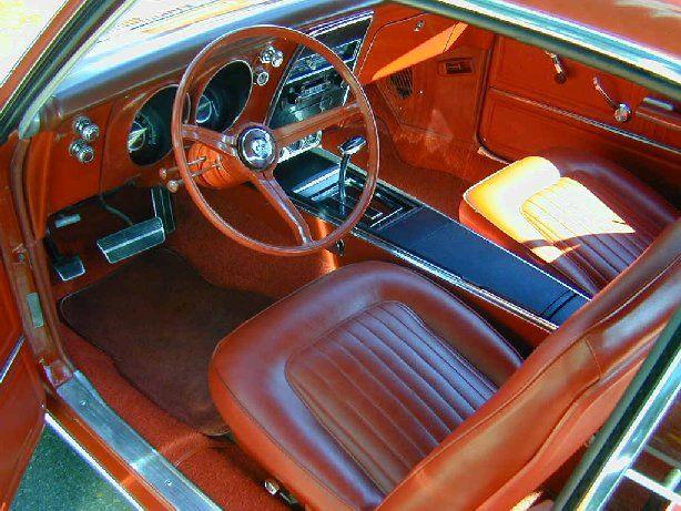 1967 chevrolet camaro ss interior dream rides for Interior 88 camaro
