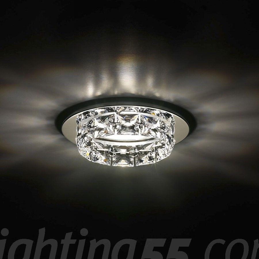 frosted decor recessed lighting with trim cover covers decorative satin turno nickel zoom glass light