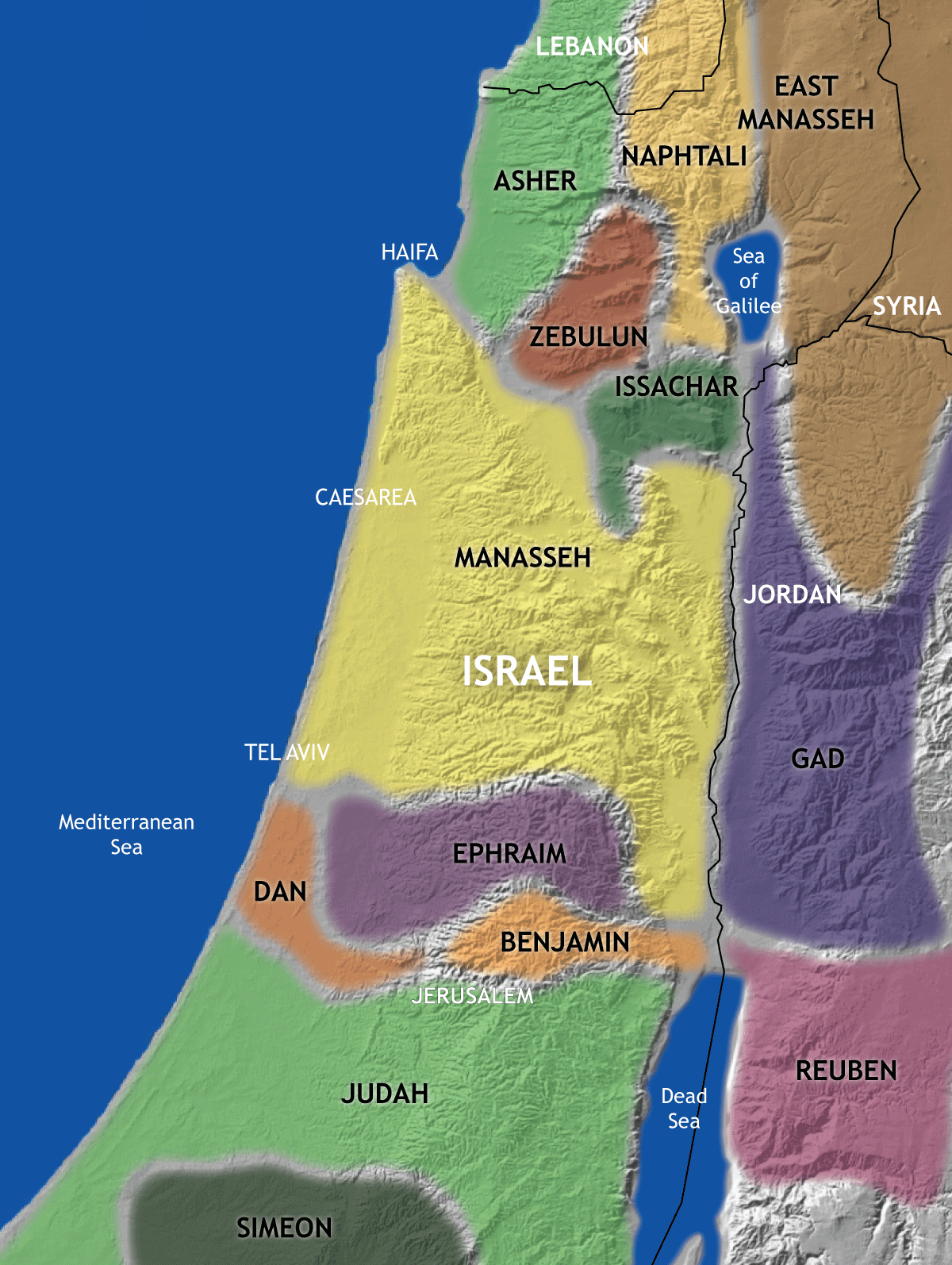 Ancient Tribes Of Israel