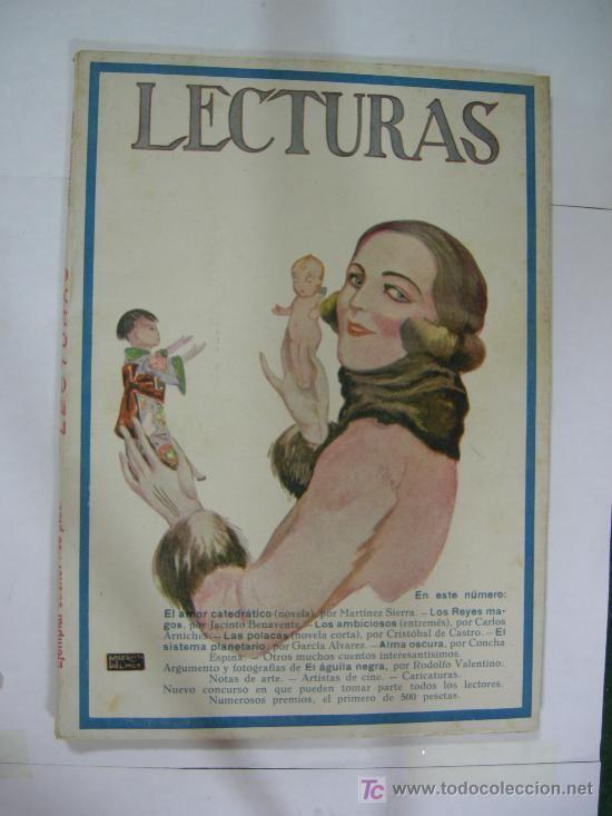 revista mensual lecturas suplemento literario, nº 67 septiembre 1926, ver sumario, ilustrada
