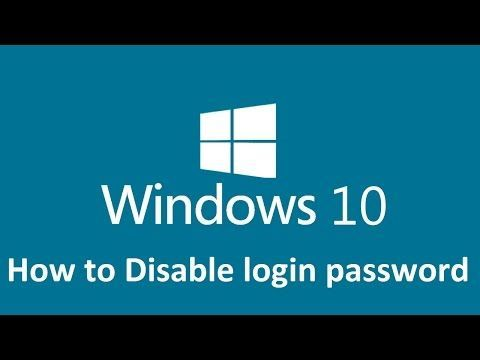 Remove Windows 10 Login Password Howtosolveit Youtube Windows10 In 2020 Youtube Informatik Handy