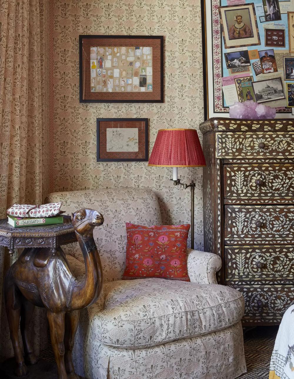 Textile designer Lisa Fine's New York apartment in 2020