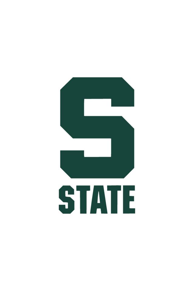 NEW Michigan State Spartans Die-Cut Alternate Metal Auto Emblem Decal Sticker