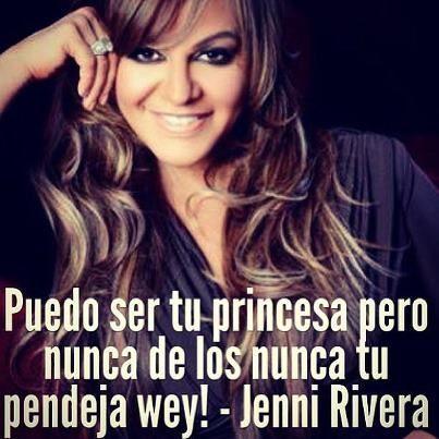 Jenni Rivera Quotes -YeciSanchez | Jenny rivera quotes ...