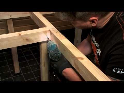 Tuntu - Saunan riippulauteiden istuinosien irrotus ja kiinnitys - YouTube