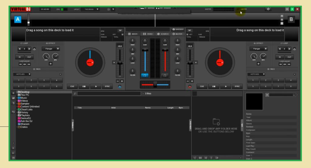 visual dj software download