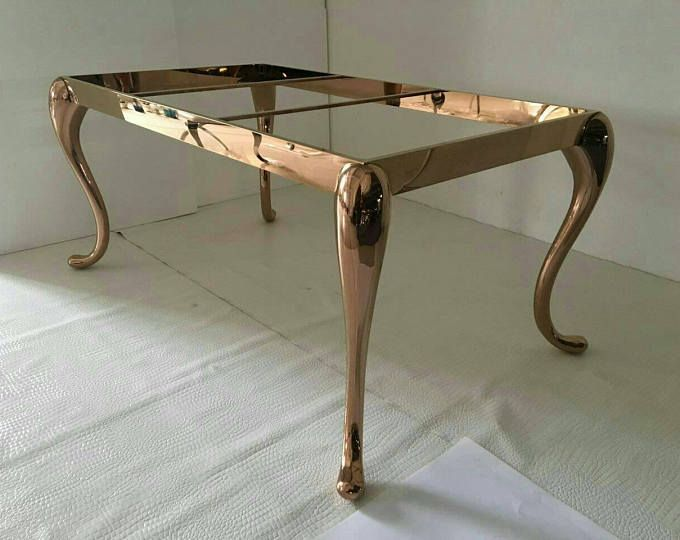 Custom metal table legs Dining Table Base by ...