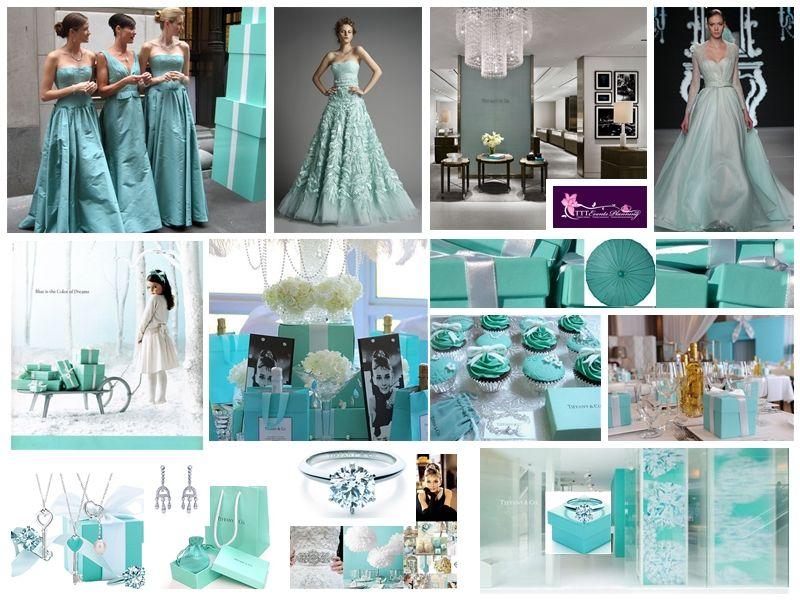 tema de la boda: Tiffany!!!