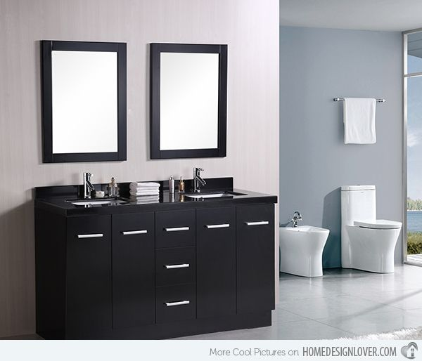 15 Black Bathroom Vanity Sets Black Vanity Bathroom Small